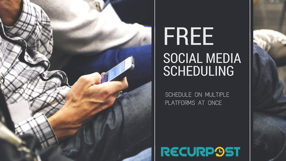 Free Post Scheduling Tool