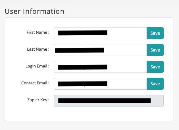 user information - recurpost - social media scheduler